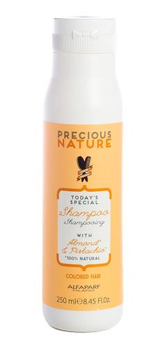 alfaparf precious nature shampoo natural pelo teñido 250ml