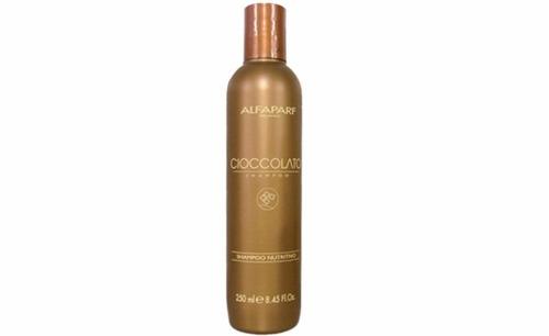alfaparf shampoo cioccolato 250 ml