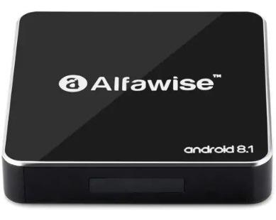 Alfawise A8 Tv Box Rockchip 3229 Android 8 1 2gb/16gb- Preto