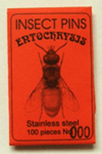 alfileres entomológicos (blancos-inox.) insect pins #000-6
