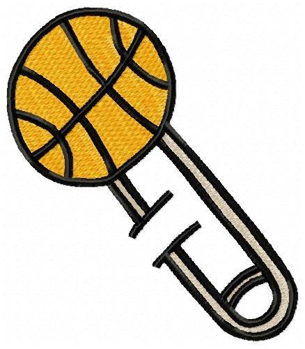 alfinetes esportes - coleção de matriz de bordado