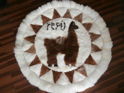 alfombra 100% alpaca