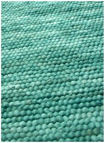 alfombra 100% lana patagonica hecha a mano a medida. cloud