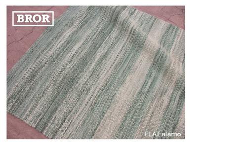 alfombra 100% lana patagonica hecha a mano a medida. flat