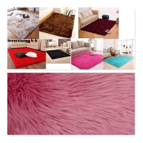 alfombra 2m x2.40 peludas grandes poliester