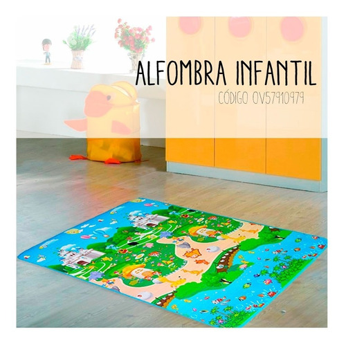 alfombra antigolpes bebe
