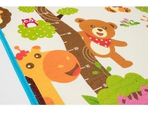 alfombra antigolpes motek 12 mm de espesor -1.80x1.20 bolso