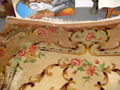 alfombra antigua estilo francés (shabby-chic)
