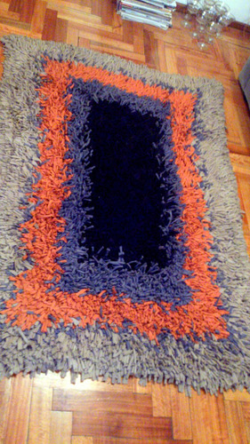 alfombra artesanal de totora
