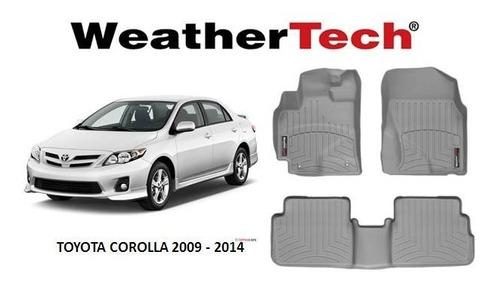 alfombra bandeja weathertech toyota corolla 2009-2014