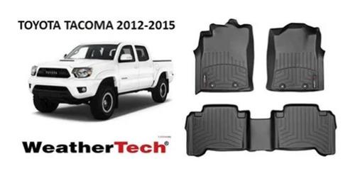 alfombra bandeja weathertech toyota tacoma 2012 - 2015