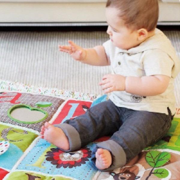 Alfombra bebe gym tela plegable y lavable skip hop en mercado libre - Alfombras de bebe lavables ...