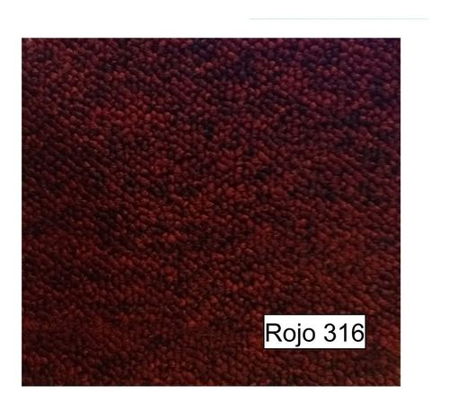 alfombra boucle rapid base doble 4mts ancho varios colores