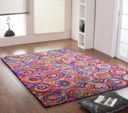 alfombra camile circulos 200x300