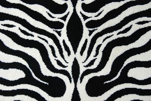 alfombra carpeta 3487 animal print - 160x220 kreatex