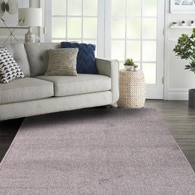 Alfombra Carpeta Color Vison Pelo Cortado 100x150cm Kreatex