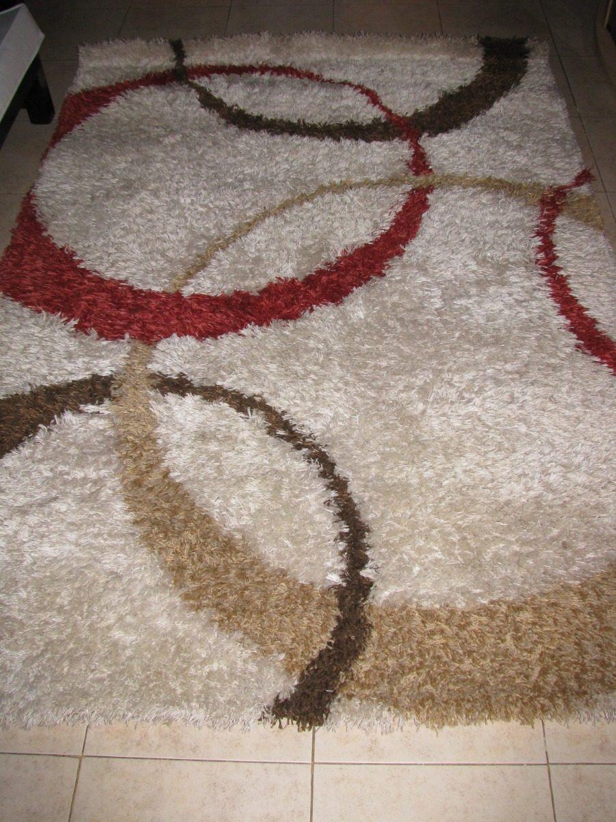 Alfombra Carpeta Shaggy 1 60 X 2 35 Mihran Egipto Impecable  # Muebles Y Alfombras Mihran