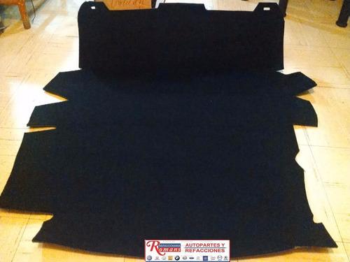 alfombra cofre de vocho sedan tipo original / envio gratis!