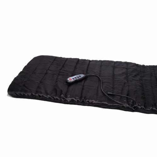 alfombra colchoneta masajeadora 4 zonas de masajes + calor
