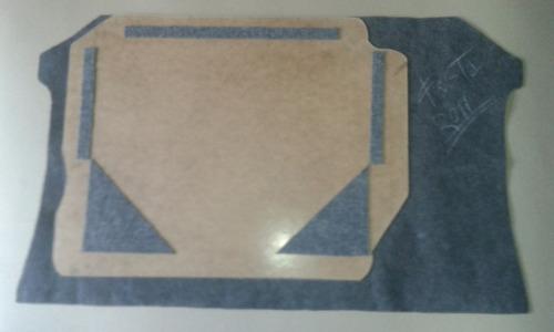 alfombra cubre repuesto ford fiesta move - max - power nueva