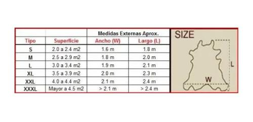 alfombra cuero vaca impreso cebra leop. tamaño x  x  l