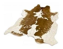 alfombra cuero vaca natural pelo. tamaño l