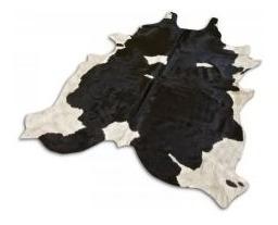 alfombra cuero vaca natural pelo. tamaño x  x  l