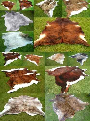 alfombra cuero vaca natural pelo. tamaño x x x l