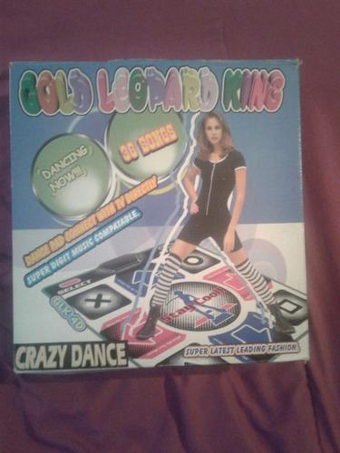 alfombra dance con 36 canciones. 1 uso en caja