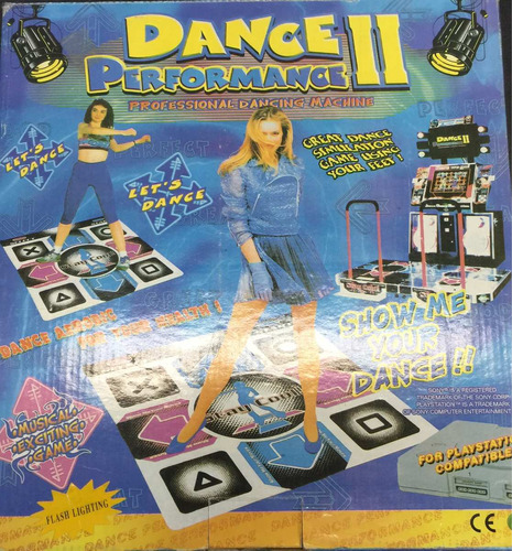 alfombra de baile dance 2 compatible playstation 1 - 2