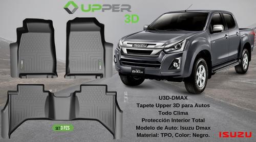 alfombra de bandeja upper 3d isuzu d-max 2011 en adelante