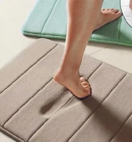 alfombra de baño premium con memory foam / antideslizante