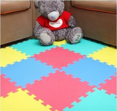 alfombra de bebe rompecabezas grande antigolpe gateo juegos
