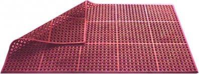 alfombra de caucho pujadas terracota resistente al aceite