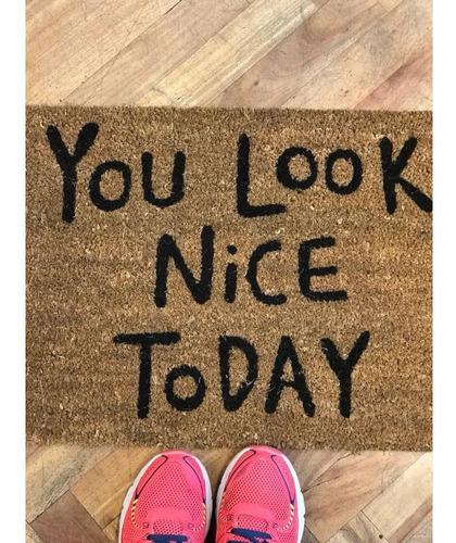alfombra de coco