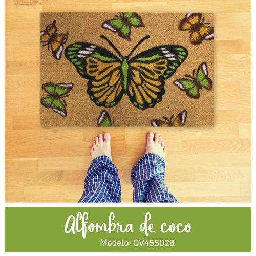 alfombra de coco felpudo entrada de casa tapete pc