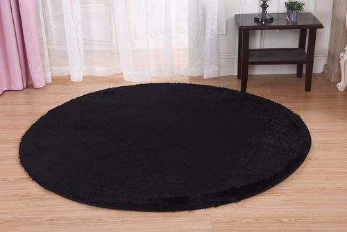 Alfombra De Dormitorio Circular - $ 1,999.00 en Mercado Libre