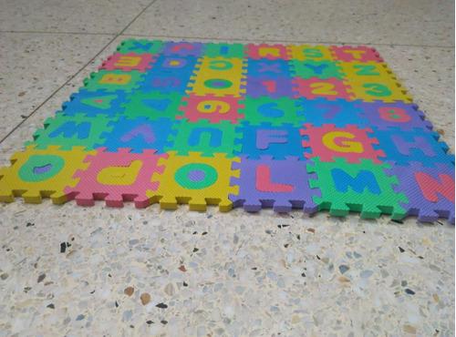 alfombra de foami 36piezas