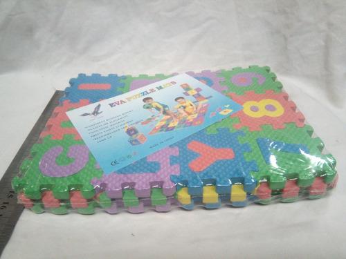 alfombra de foami didáctica pequeña