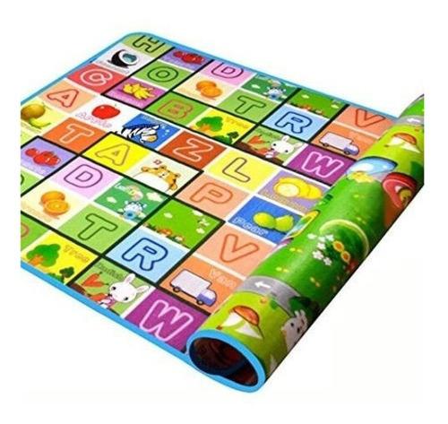 alfombra de gateo para bebe estera resistible