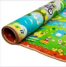 alfombra de gateo para bebé grosor 1cm 1.50x1.80 mts