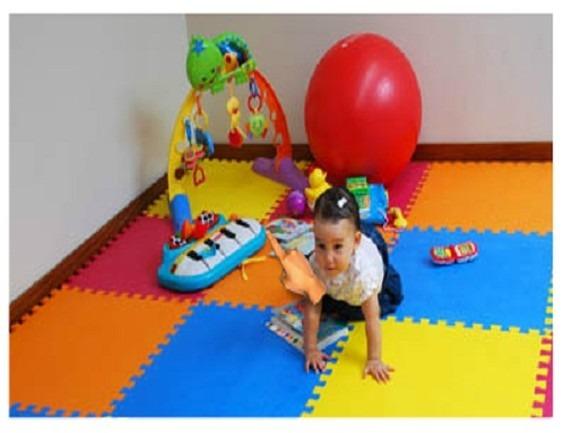 Alfombra de goma eva set de 6 planchas de 63 x 63 x1 1 cm en mercado libre - Alfombra de goma para piso ...