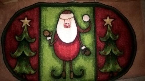 alfombra de navidad