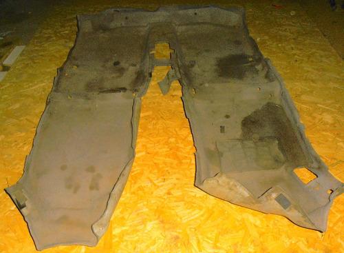 alfombra de piso kia cerato sedan año 2004 - 2007