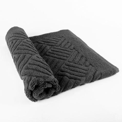 alfombra de toalla ama de casa 54x68 cms ónix