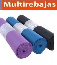 alfombra de yoga mat multiples usos con funda protectora