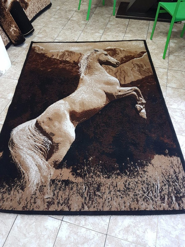 alfombra decorativa pelo bajo 2.15x1.60mt importada nueva!
