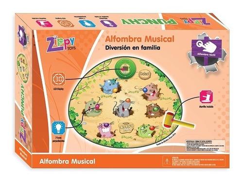 alfombra didactica musical infantil punchy con luz y sonido