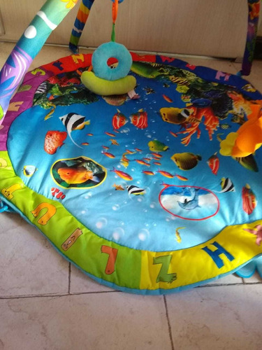 alfombra didactica ocean 2 felcraft bebe gimnasio acolchada