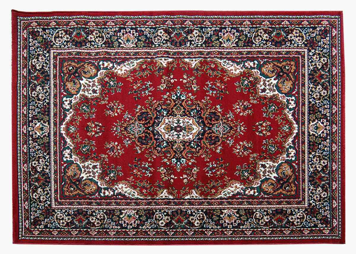 alfombra 3251 roja diseo persa 60x100 cm kreatex - Alfombras De Diseo